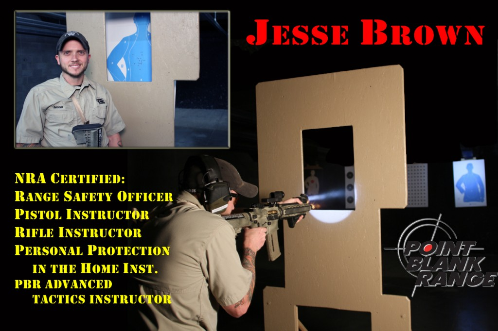 Jesse Brown, Instructor