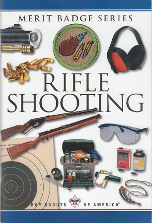 Rifle Shooting Merit Badge pamphlet